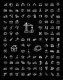 Budów ikony ustawiać ilustracji