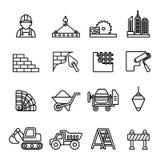 Budów ikony ustawiać