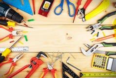 Budów narzędzia. Zdjęcie Stock