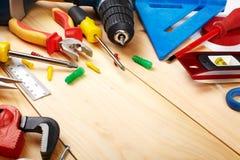 Budów narzędzia. Obrazy Stock