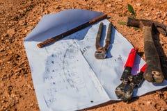 Budów narzędzia i Zdjęcia Royalty Free