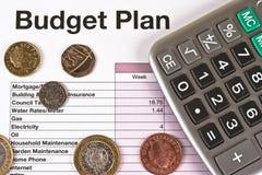 budżet zdjęcia stock