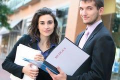 budżeta biznesu przyglądający ludzie Fotografia Stock