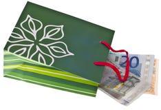 budżeta prezenta wakacje zdjęcie stock