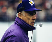 Bud Grant, Minnesota Vikings Stock Images