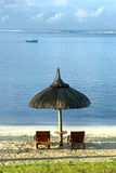 bud plażowi sundecks dwa Zdjęcie Stock