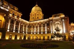 Buda城堡在布达佩斯,匈牙利 免版税库存照片