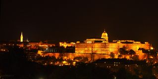Buda城堡 库存照片