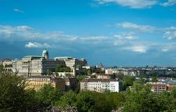 Buda城堡 免版税图库摄影