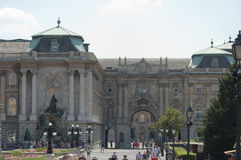 Buda城堡 图库摄影