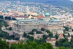 buda布达佩斯城堡匈牙利 免版税库存照片