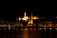 Buda в ноче Стоковое Изображение RF