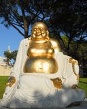 Buda. Buddha in the garden for orient in Qta. Of Loridos, Bombarral, Portugal Stock Photo