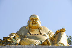 Buda. Buddha in the garden for orient in Qta. Of Loridos, Bombarral, Portugal Stock Photography