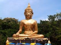 Buda Amnat Charoen, Tailandia Foto de archivo libre de regalías