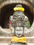 Buda antiguo en Sala Kaew Ku Imagen de archivo libre de regalías