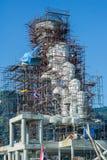 Buda bajo construcción Fotografía de archivo