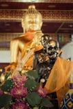 Buda Banguecoque, Tailândia Foto de Stock Royalty Free