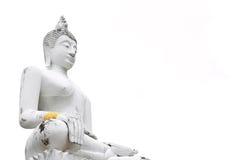 Buda blanco Fotografía de archivo libre de regalías