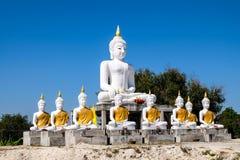 Buda blanco Imágenes de archivo libres de regalías