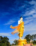 Buda blanco en Phukadueng Imagenes de archivo