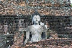 Buda bonita no Sukhothai, Tailândia, patrimônio mundial Imagem de Stock
