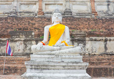Buda branca Imagens de Stock Royalty Free