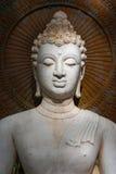 Buda, cara de la estatua del budda Fotos de archivo