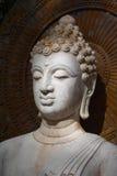 Buda, cara de la estatua del budda Foto de archivo libre de regalías