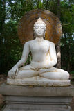 Buda, cara de la estatua del budda Imagen de archivo libre de regalías