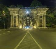 Buda Caste Tunnel Imagen de archivo libre de regalías