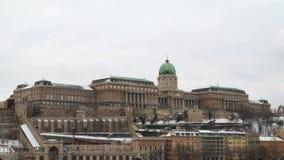 Buda Castle è il castello storico archivi video