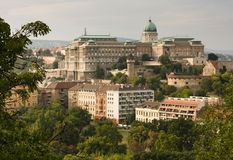 Buda castle. Old buda castle in Budapest, Hungary, Europe royalty free stock images