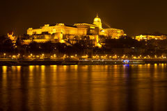 Buda Castle. From Budapest, Hungary Stock Photography