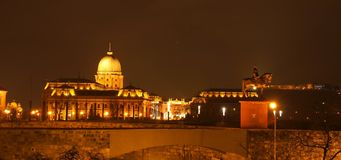 Buda Castle Stock Photography