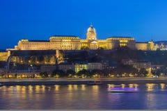 Buda Castle Fotografia Stock