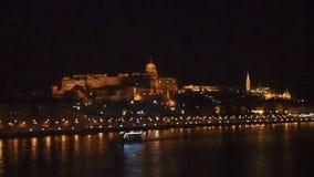 Buda Castle stock video