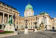 Buda Castle, Boedapest Stock Foto's