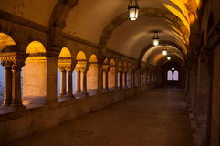 Buda Castle in Boedapest Stock Afbeeldingen