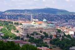 Buda Castle, Budapest Stock Photography