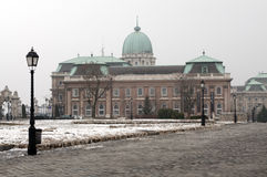 Buda Castle in Budapest Royalty Free Stock Photography