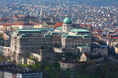 Buda Castle in Budapest. Hungary Stock Photo