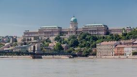 Buda Castle Budapest Royalty-vrije Stock Foto