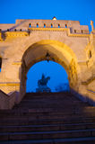 The Buda Castle in Budapest Stock Image