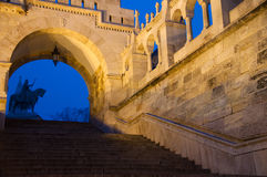 The Buda Castle in Budapest Royalty Free Stock Images