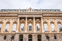 Buda castle in Budapest Royalty Free Stock Photo
