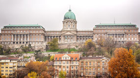 Buda Castle in Budapest, Hungary Royalty Free Stock Photo