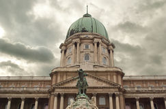Buda castle in Budapest (Hungary) Royalty Free Stock Images