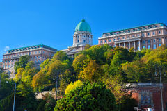 Buda Castle in Budapest, Hungary Royalty Free Stock Image