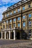 Buda castle Stock Photos